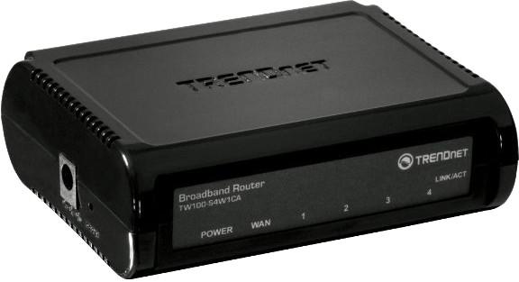 TRENDnet Super DSL-Router(TW100-S4W1CA)