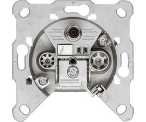 10 x SAT TRIAX Dose Enddose Aufputz Unterputz Antennendose 3 fach digital EDA302