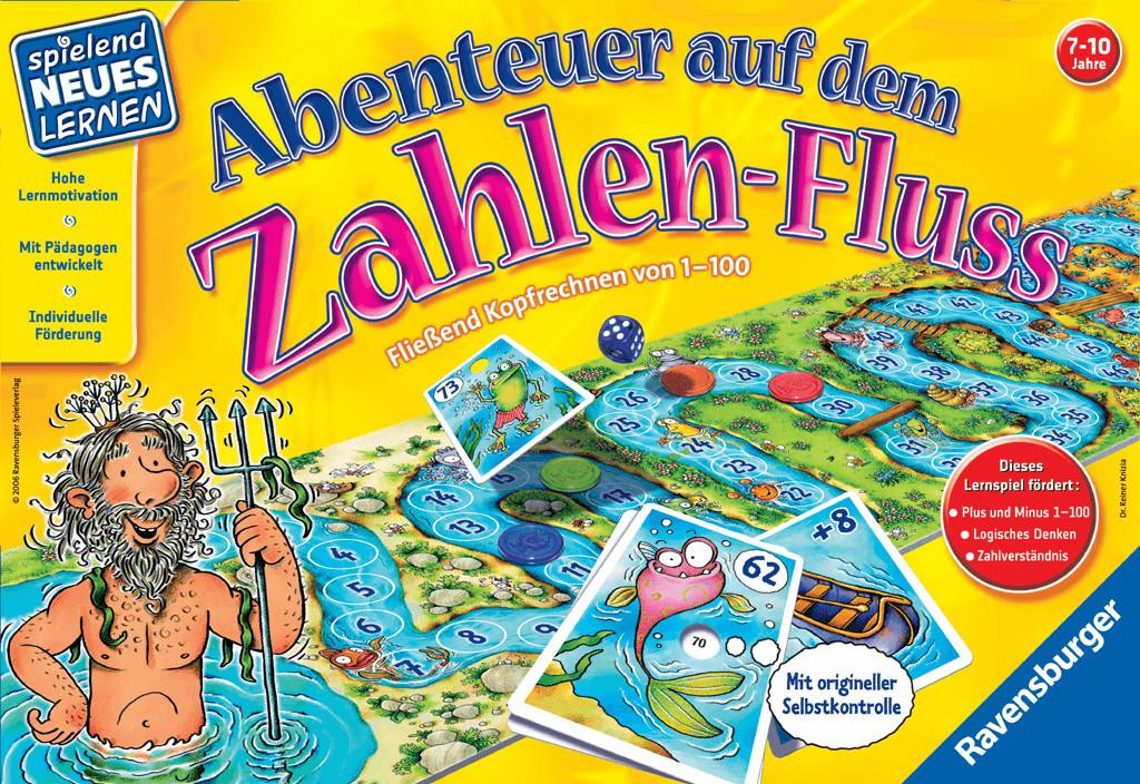 Ravensburger Abenteuer auf dem Zahlenfluss (25024)