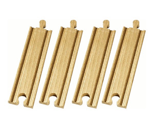 Image of Brio 2/3 Straight Tracks (33335)