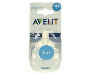 Avent Medium Flow Teat (Pack of 2)