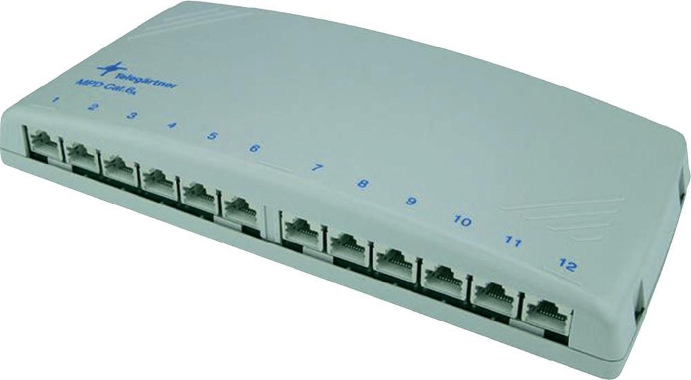 Telegärtner Modular Patch Verteiler 12 x RJ45