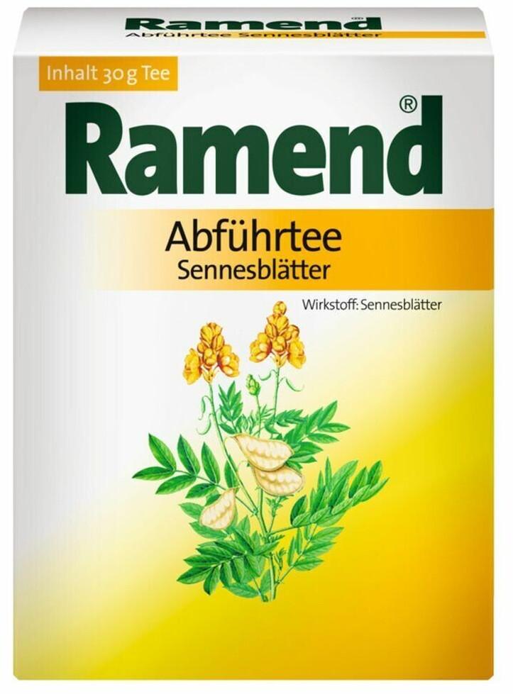 Ramend Abfuehrtee Sennesblaetter (30 g)