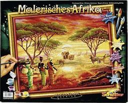 Schipper Malen nach Zahlen Malerisches Afrika