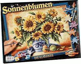 Schipper Malen nach Zahlen Sonnenblumen