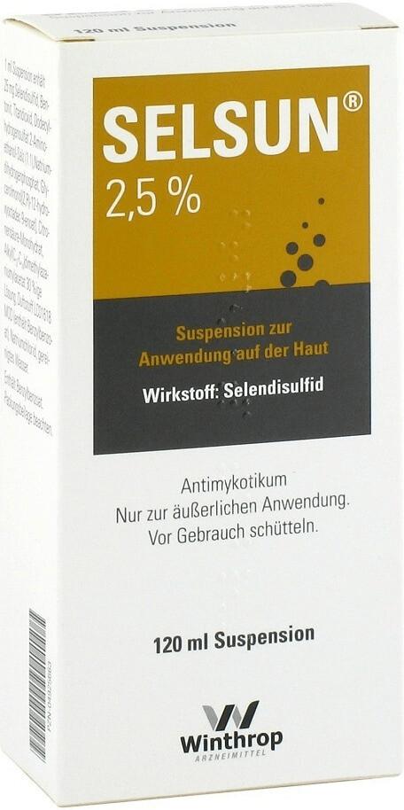 Chattem Selsun Suspension (120 ml)