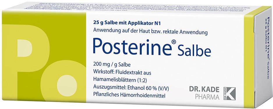 Posterine Salbe (25 g)