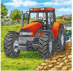 Ravensburger RV Puzzle Große Landmaschinen 3 x 49-teilig, ab 5 Jahren