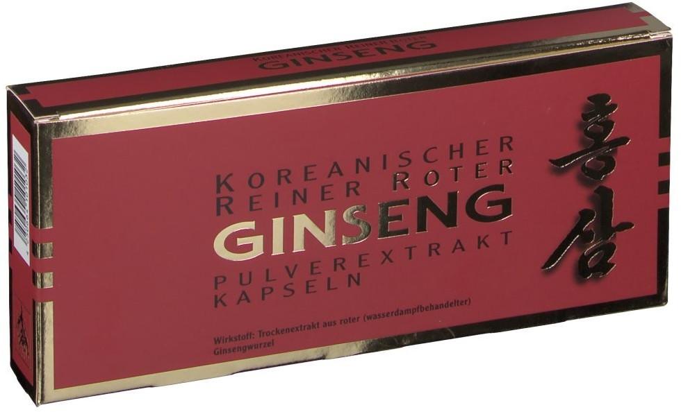 Roter Ginseng Extrakt Kapseln (90 Stk.)