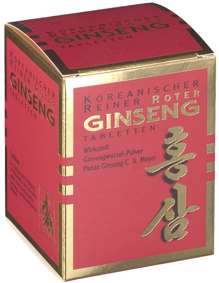 Roter Ginseng Tabletten 300 mg (200 Stk.)