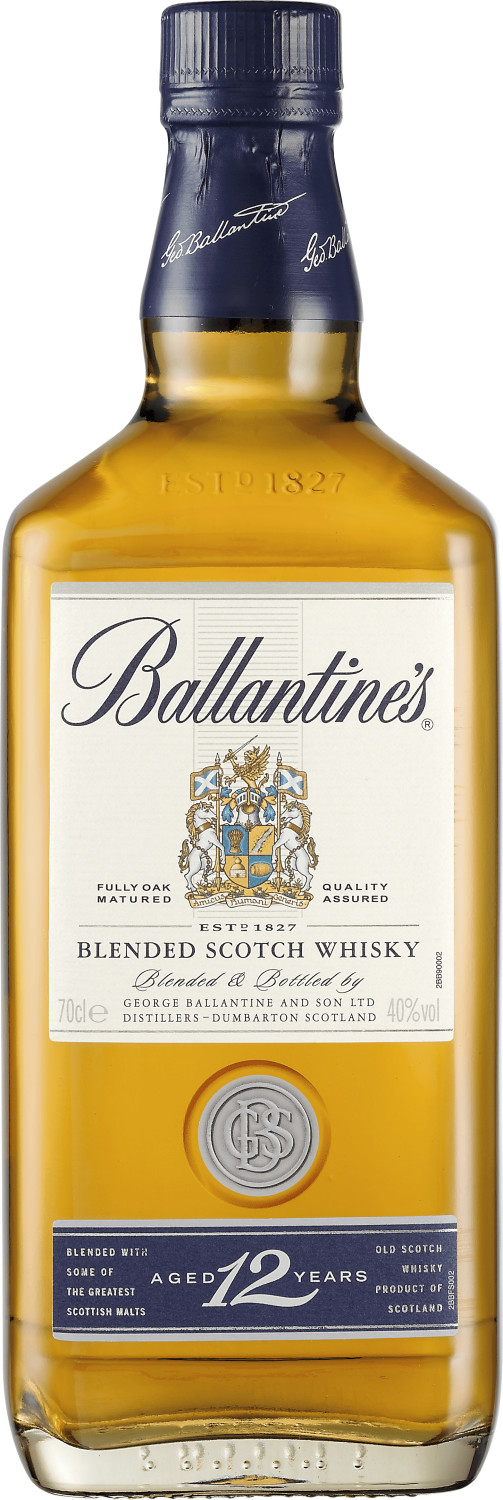 Ballantine´s 12 Jahre Blended Scotch Whisky 0,7...