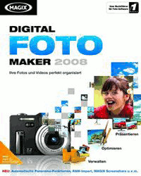 Magix Digital Foto Maker 2008 (Win) (DE)