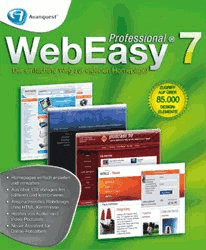 Avanquest WebEasy 7 Professional (DE) (Win)