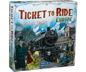 Ticket to Ride - Europe Board Game (New Edition,2018) for ...