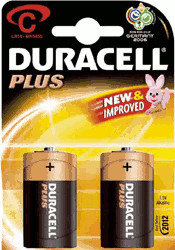 Image of Duracell 2x C / LR14 Plus MN1400