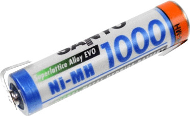 Sanyo AAA Micro HR-4U 1,2V 1000 mAh