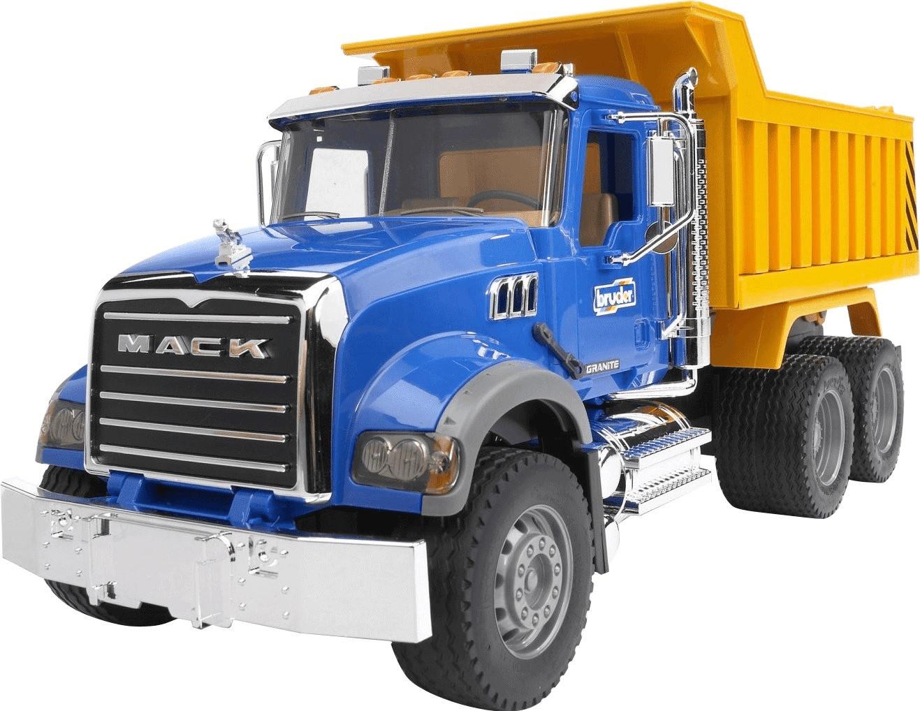Image of Bruder Camion MACK ribaltabile (02815)