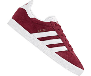 Attach to cooperate Much  Buy Adidas Gazelle Kids Collegiate Burgundy/Footwear White from £38.66  (Today) – Best Deals on idealo.co.uk