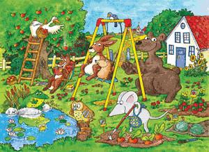 Ravensburger In the Garden (100 Pieces)