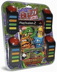 Buzz! Junior - Monsterspaß + Buzzer (PS2)
