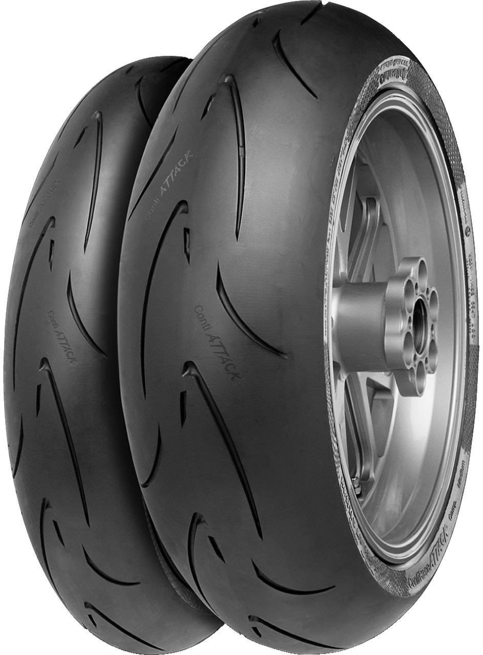 Continental ContiRaceAttack Comp. Medium 120/70 ZR17 58W
