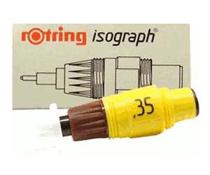Ø 2,00 mm Rotring Isograph Zeichen-Kegel für Tuschestift