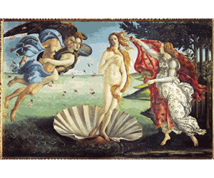 Clementoni Botticelli - The birth of Venus (1000 pieces)
