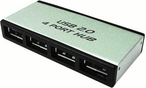 Image of LogiLink 4 Port USB 2.0 Hub (UA0003)