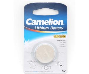 Camelion Knopfzelle CR2450 Batterie 3V 550 mAh ab € 0,62