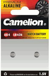 Camelion AG4/LR626 Knopfzelle Batterie LR626 1,5V 18 mAh (2 St.)
