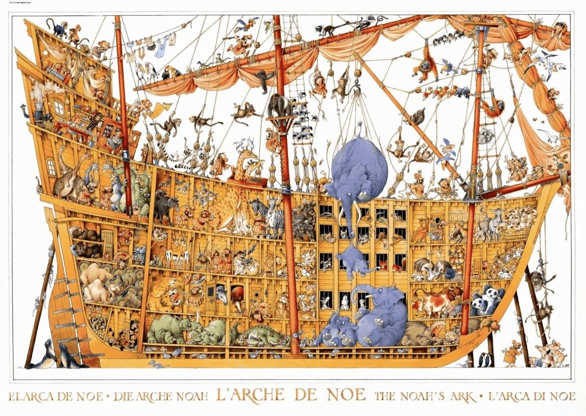 Heye Loup - Arche Noah (2.000 Teile)