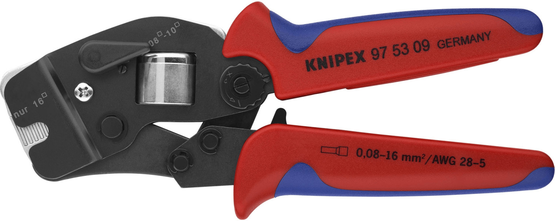 Knipex Selbsteinstellende Crimp-Zange für Aderendhülsen 190 mm (97 53 09)