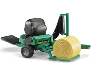 Bruder Ballenwickler 1:16 Spielzeug Modell Rundballen Wickelmaschine