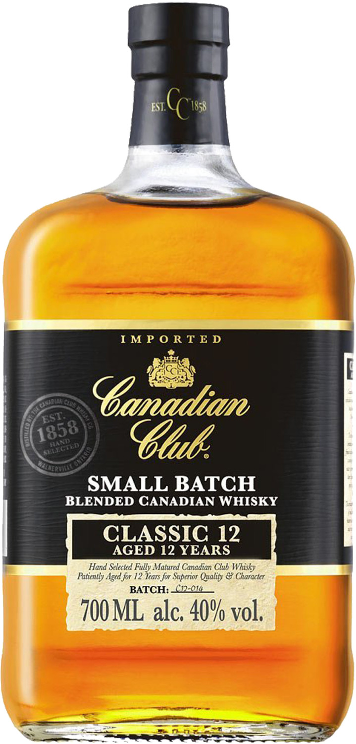 Canadian Club Whisky Classic 12 Jahre 0,7l 40%