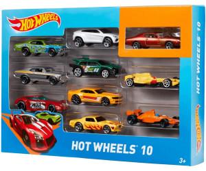 hot wheels 10 car set - Voitures Hot Wheels