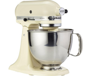 Kitchenaid robot da cucina artisan crema 5ksm150pseac a for Kitchenaid artisan prezzo
