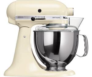 Kitchenaid Artisan 5ksm150ps Eac Creme Ab 499 00 Preisvergleich