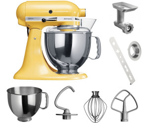 KitchenAid Robot da cucina Artisan giallo pastello (5KSM150PSEMY) a ...