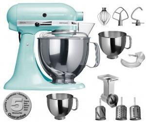 Kitchenaid robot da cucina artisan blu ghiaccio for Kitchenaid artisan prezzo