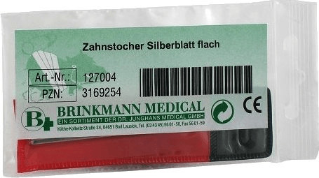 Dr. Junghans Medical Zahnstocher Silber