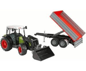 Bruder claas nectis f traktor mit frontlader und