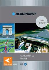 Tele Atlas Frankreich 2007 - Blaupunkt TravelPilot