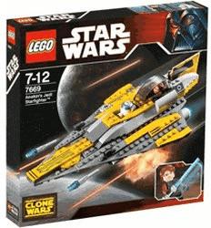 LEGO Star Wars - Le Jedi Starfighter d'Anakin (7669)
