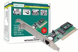 Digitus Fast Ethernet PCI Karte 10/100MBIT (DN-1001J)