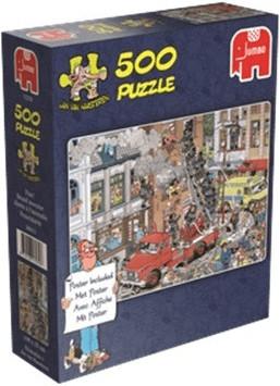 PUZZLE 500 PZAS.  JVH - FUEGO