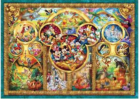Ravensburger Die schönsten Disney Themen (1.000 Teile)