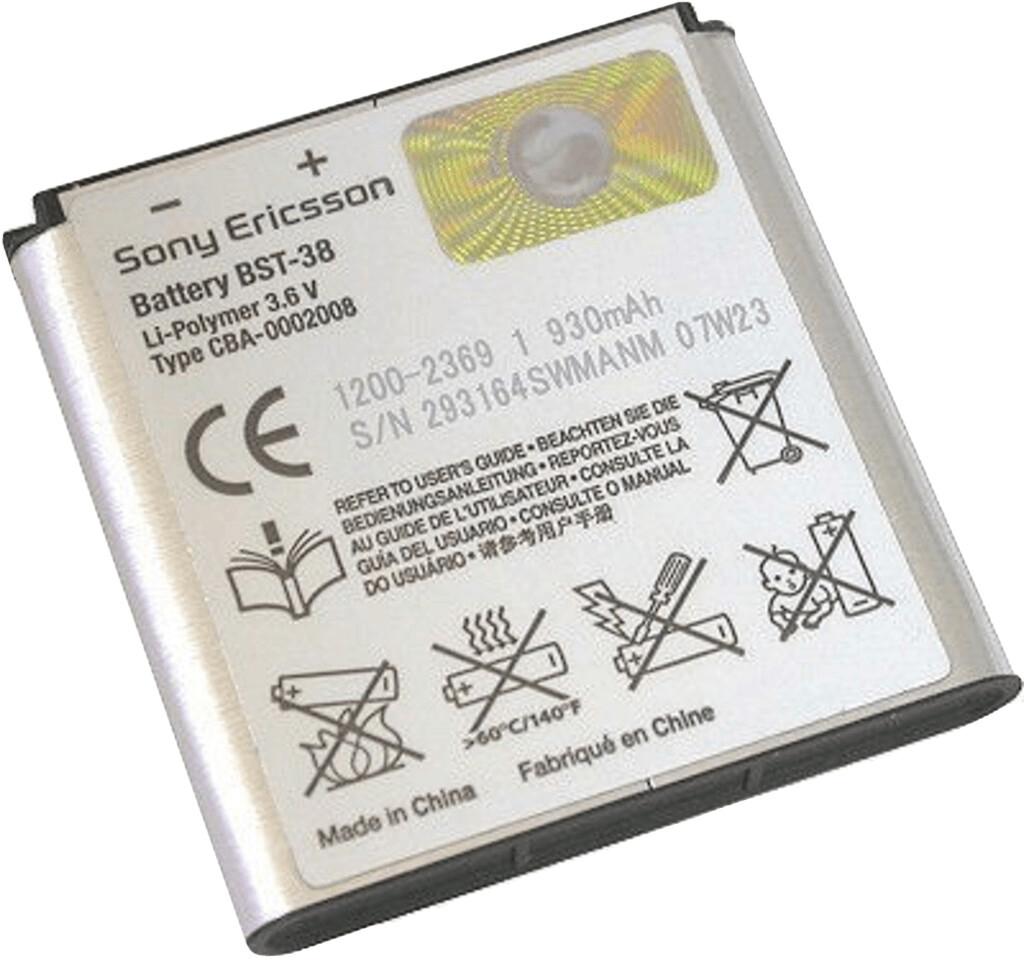 Sony-Ericsson Batería K-Series/S-Series/W-Series/Xperia X10 Mini Pro (BST-38)