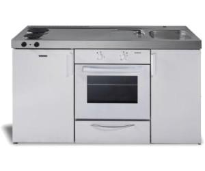 Miniküche Mit Kühlschrank Preisvergleich : Respekta miniküche single pantry küche küchenblock cm weiss