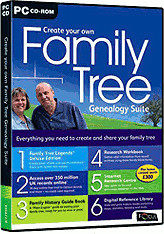 Image of Focus Multimedia Create Your Own Family Tree Genealogy Suite