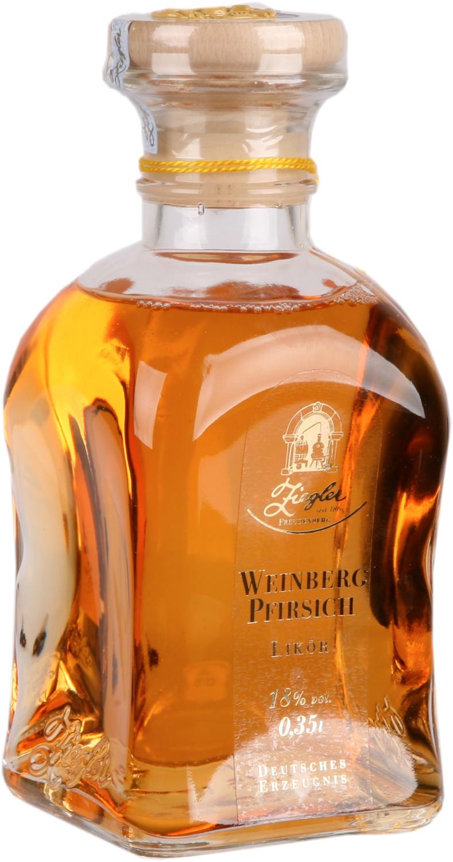 Ziegler Weinbergpfirsich Likör 0,35 l 18%